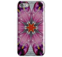 Pansy Fractal Art iPhone Case iPhone Case/Skin
