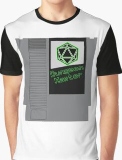 Dungeon Master NES Cartridge Mash Up Graphic T-Shirt
