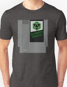 Dungeon Master NES Cartridge Mash Up Unisex T-Shirt