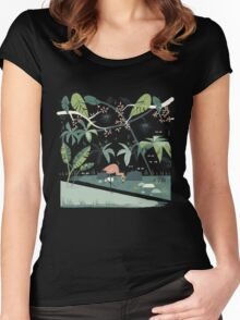 Nightshade Jungle Women's Fitted Scoop T-Shirt
