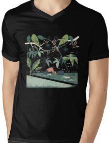 Nightshade Jungle Mens V-Neck T-Shirt