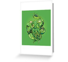 Sir Charles Cthulhu Greeting Card