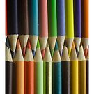 Vertical Colored Pencils by Randy Turnbow