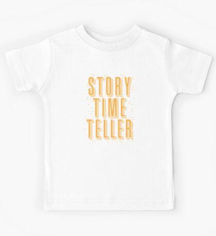 STORY TIME TELLER Kids Tee