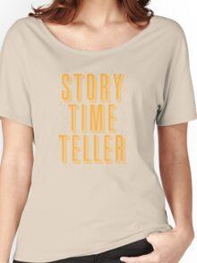 STORY TIME TELLER Women's Relaxed Fit T-Shirt