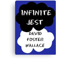 Infinite Jest Canvas Print