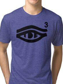 TDE Hiii Power Logo 3 Tri-blend T-Shirt