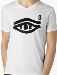 TDE Hiii Power Logo 3 Mens V-Neck T-Shirt