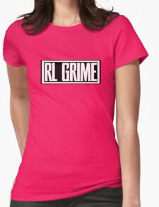 RL Grime Basic (WHITE) Womens Fitted T-Shirt