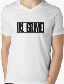 RL Grime Basic (BLACK) Mens V-Neck T-Shirt