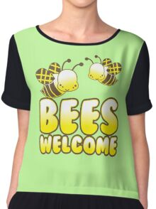 Bees welcome Chiffon Top