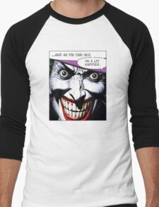 Batman Joker Men's Baseball ¾ T-Shirt
