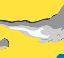 whale life  Sticker