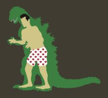 Godzilla: Man In Suit by janketees