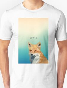 Sassy Summer Fox Unisex T-Shirt