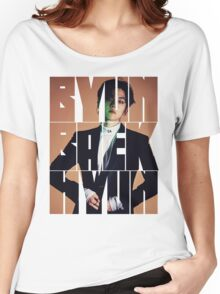 EXO Baekhyun 'Monster' Typography Women's Relaxed Fit T-Shirt