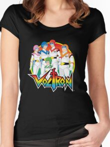 Voltron Pilots Women's Fitted Scoop T-Shirt