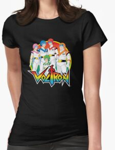Voltron Pilots Womens Fitted T-Shirt
