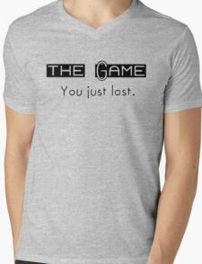 The Game. You just Lost. Mens V-Neck T-Shirt