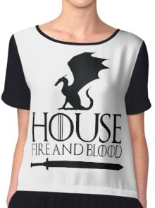 House Targaryen Chiffon Top