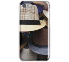 Handmade Hats at the Market iPhone Case/Skin