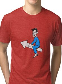 successful winner winning career Tri-blend T-Shirt