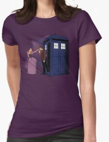 Anastasia And The Doctor  Womens Fitted T-Shirt