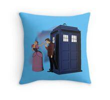 Anastasia And The Doctor Pillow Throw Pillow