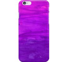 Abstract watercolor hand paint magenta texture  iPhone Case/Skin