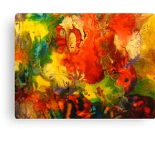 Colorful Abstract Modern Contemporary Fine Art Canvas Print