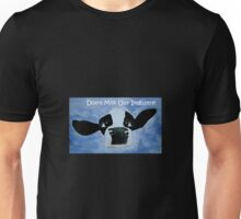 Gippy Cow - Please Don't milk our industry! Unisex T-Shirt