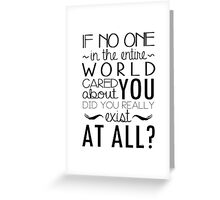 The Infernal Devices Quote Greeting Card