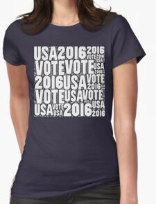 Vote USA 2016 Womens Fitted T-Shirt
