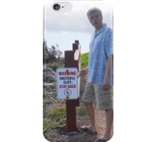Unstable Cliffs, Maui iPhone Case/Skin