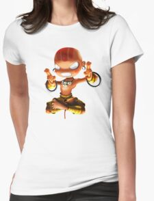 Dhalsim Womens Fitted T-Shirt