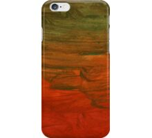 Abstract hand paint watercolor iPhone Case/Skin