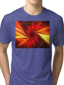 Sunrise Swirl Tri-blend T-Shirt