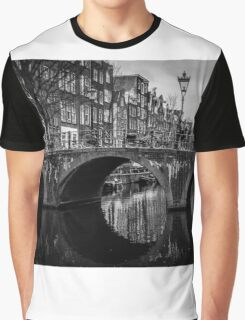 The beauty of Amsterdam's channels Graphic T-Shirt