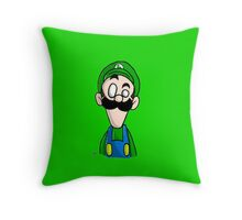 Luigi dO_op Throw Pillow