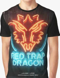 ilovemakonnen - Red Trap Dragon   JAKKOUTTHEBXX  Graphic T-Shirt