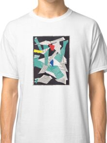 Collage abstract multicolor 3232 Classic T-Shirt