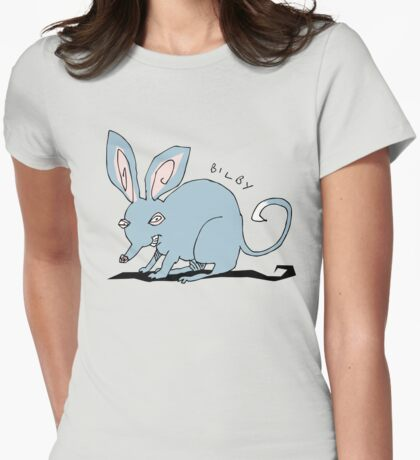 Bilby Womens Fitted T-Shirt