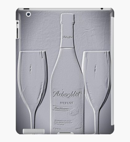 Wine forTwo - Just Imagine iPad Case/Skin