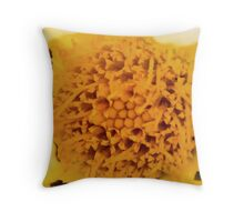 Flower Macro Pillow Throw Pillow