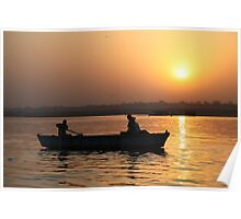 Varanasi Sunrise Poster