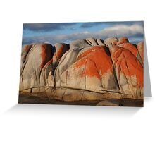 On the Bay of Fires Greeting Card