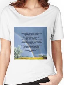 The Lords Prayer Women's Relaxed Fit T-Shirt
