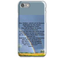 The Lords Prayer iPhone Case/Skin