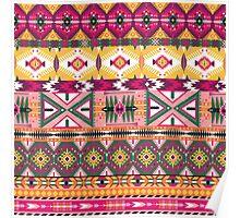 Navajo tribal pattern  Poster