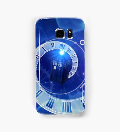 Police Box Time Travel Samsung Galaxy Case/Skin